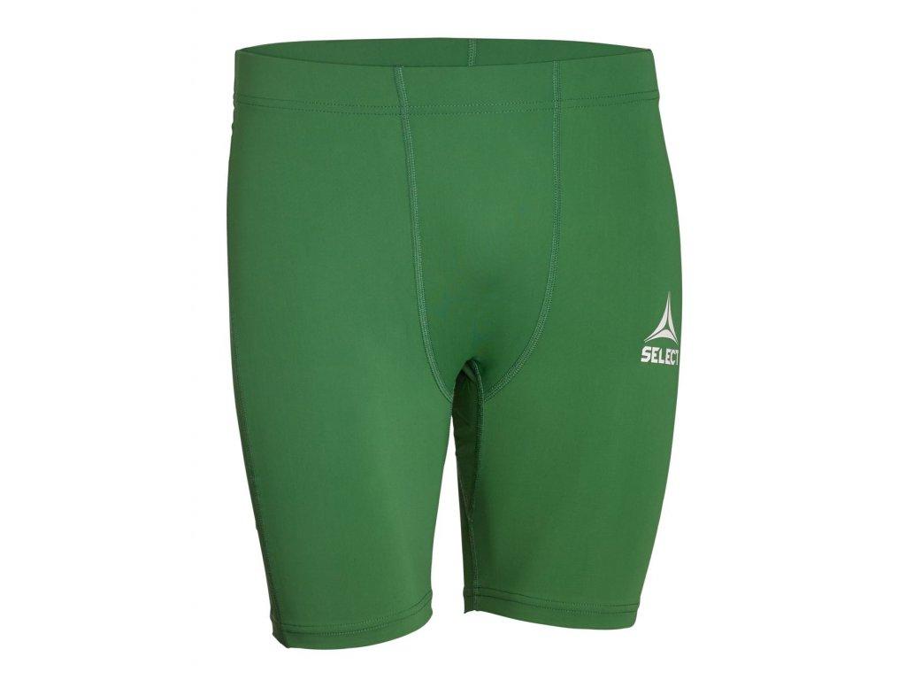 Kompresní šortky Select Tights short Baselayer zelená