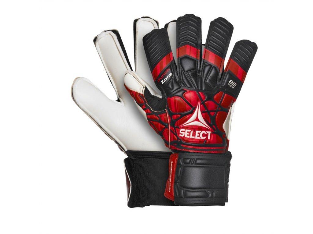 Brankářské rukavice Select GK gloves 88 Kids černo červená