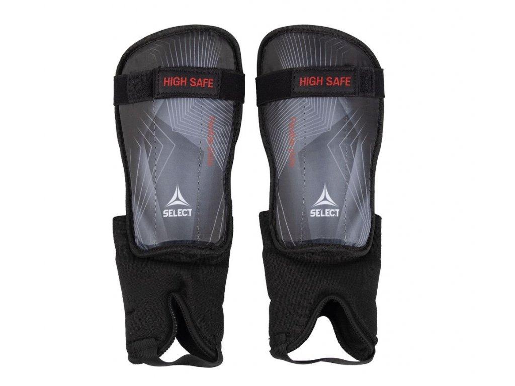 Chrániče holeně Select Shin guards High Safe šedo černá