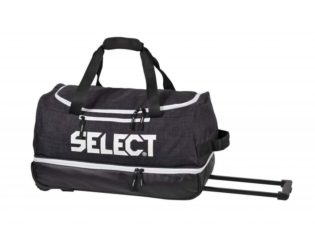 Sportovní taška Select Travelbag Lazio w/wheels černá