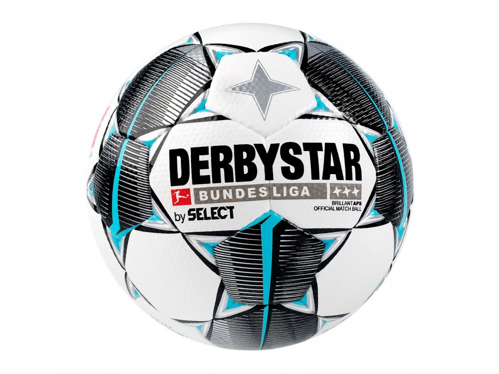 Fotbalový míč Select DERBYSTAR Bundesliga Brillant APS Official Match Ball bílo černá