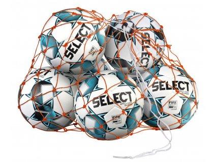 Síť na míče Select Ball net 14-16 balls oranžová