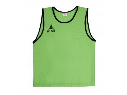 Rozlišovací triko Select Bibs Super zelená
