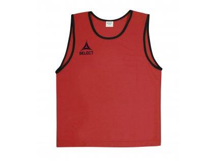 Rozlišovací triko Select Bibs Super světle červená
