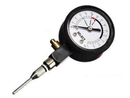Tlakoměr Select Pressure gauge analogue černá