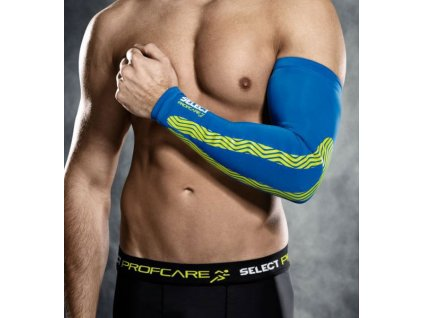 Kompresní rukáv Select Compression arm sleeves 6610 modrá
