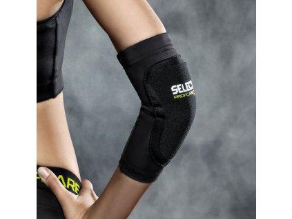 Bandáž na loket Select Compression elbow support youth 6651 černá