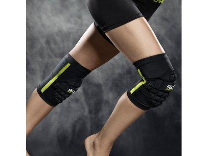 Chrániče na kolena Select Knee support handball youth 6291 černá 2 kusy