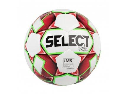 Futsalový míč Select FB Futsal Samba bílo červená