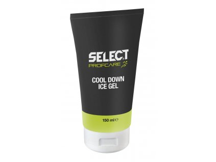 Chladivý gel Select Cool Down Ice Gel bílá