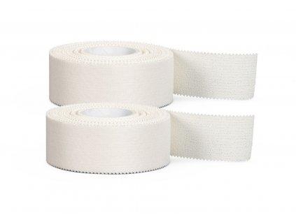 Tejpovací páska Select Pro Strap sportstape II 2-pack bílá 2,5 cm