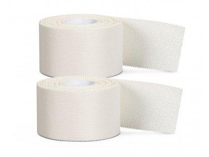 Tejpovací páska Select Pro Strap sportstape II 2-pack bílá 4 cm