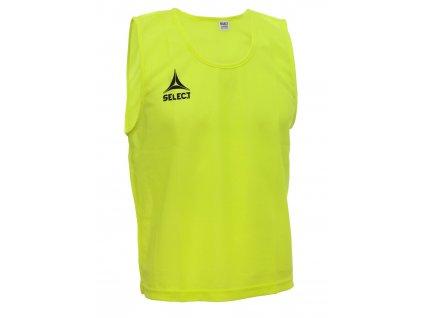 Rozlišovací triko Select Bib Basic žlutá