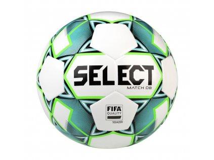 Fotbalový míč Select FB Match DB bílo zelená