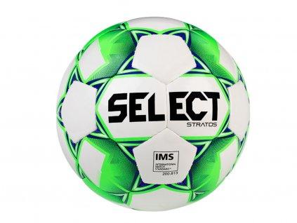 Fotbalový míč Select FB Stratos bílo zelená