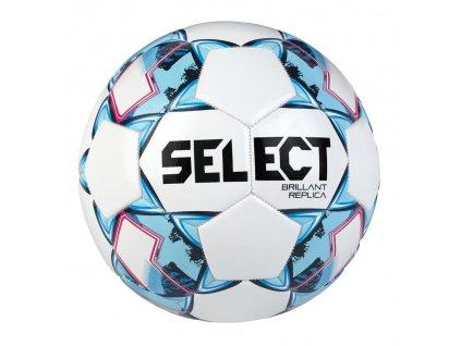 Fotbalový míč Select FB Brillant Replica bílo modrá