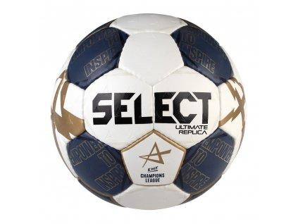 Házenkářský míč Select HB Ultimate Replica CL bílo modrá
