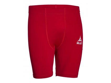Kompresní šortky Select Tights short Baselayer červená