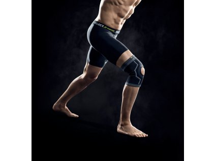 Bandáž kolene Select Knee support w/hole černá