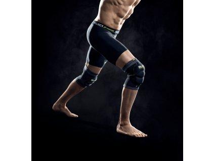 Bandáž kolene Select Knee support w/pad 2-pack černá