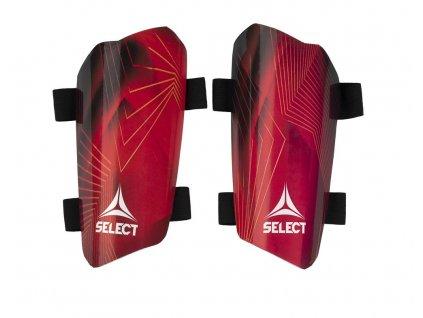 Chrániče holeně Select Shin guards Standard červená