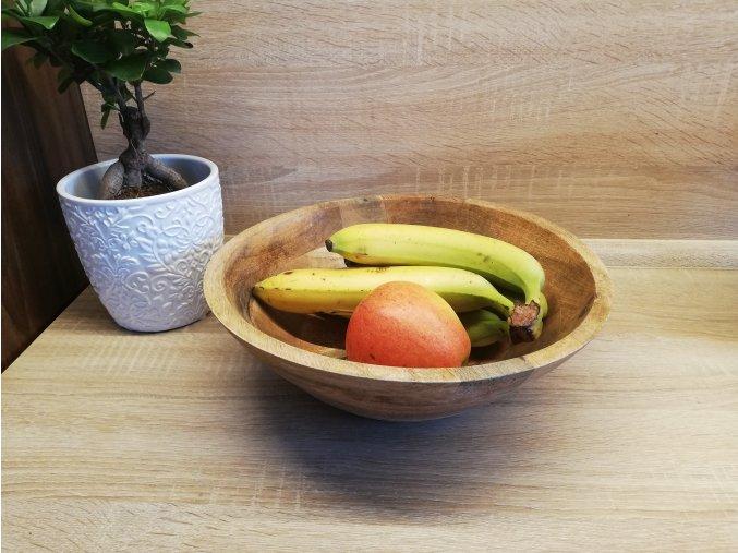 Miska z mangového dřeva