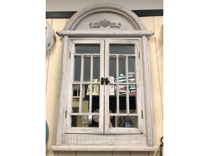 Retro šedé zrcadlo