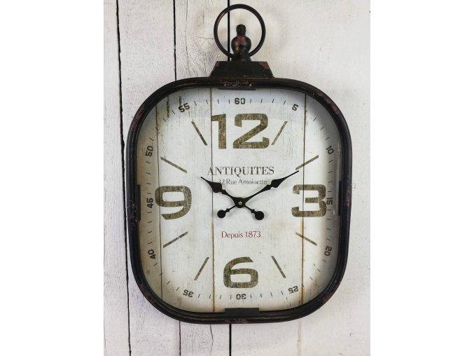 Velké kovové vintage hodiny