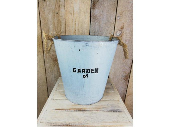Retro kbelík Garden