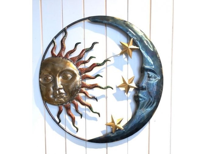 Závěsná dekorace den a noc