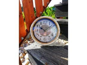 Kulaté retro hodiny