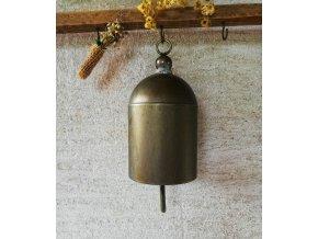 Plechový dekorační zvonek