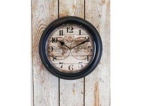 Kovové světové hodiny