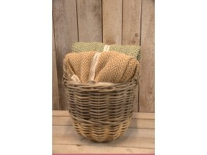Vzorovaná hebká deka