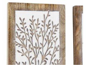 Obraz ženy s květinou na hlavě