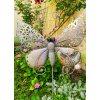 Motýl jako zápich na zahradu