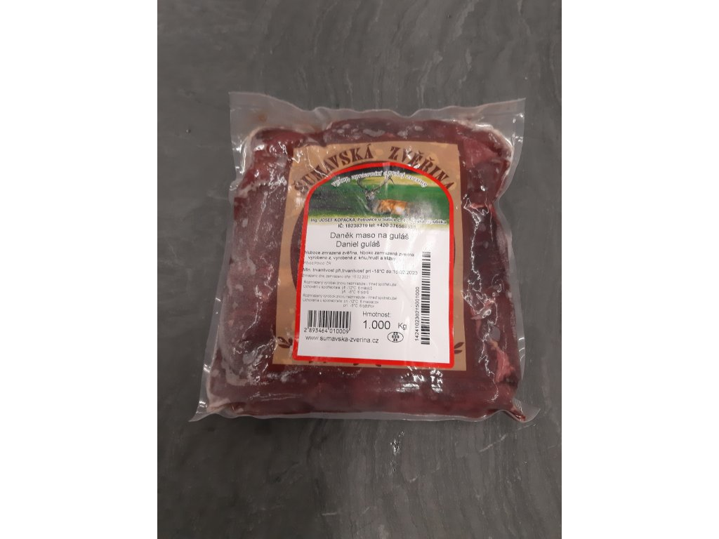 Dančí maso na guláš 1