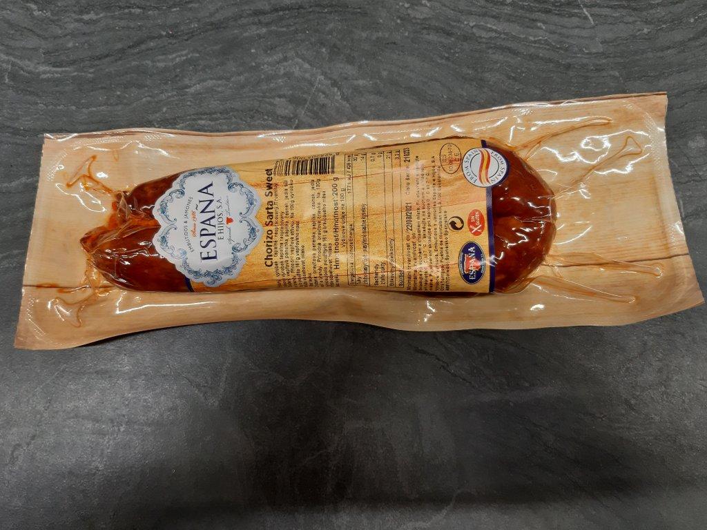 Klobáska Chorizo sladká 1