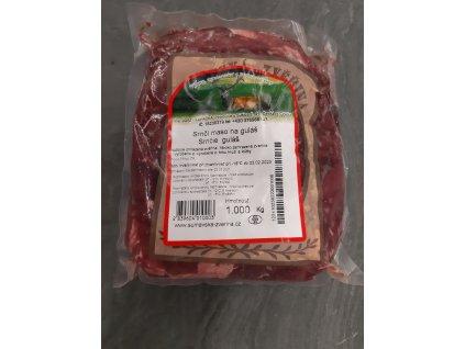 Srnčí maso na guláš 1