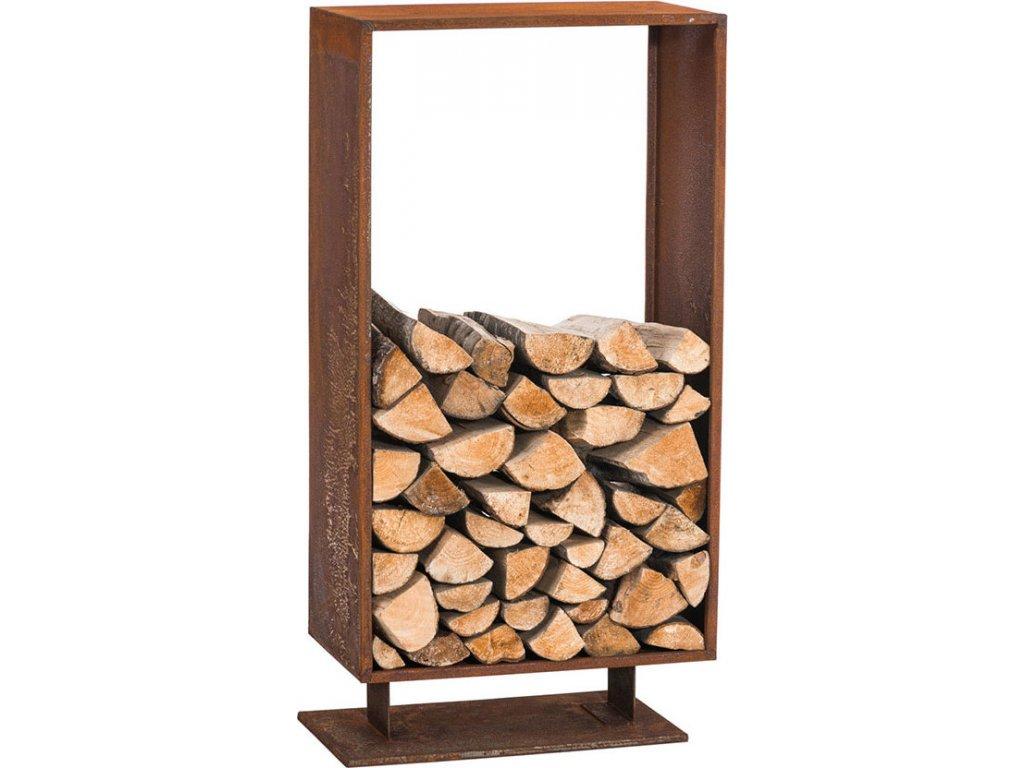 Stojan na dřevo ke krbu