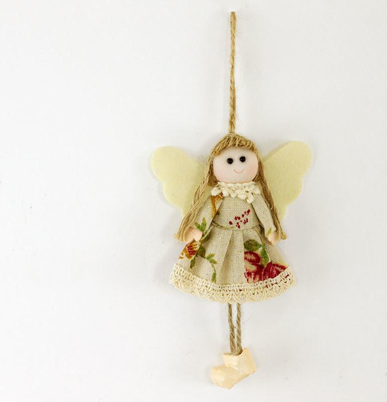 Andělé z textilu
