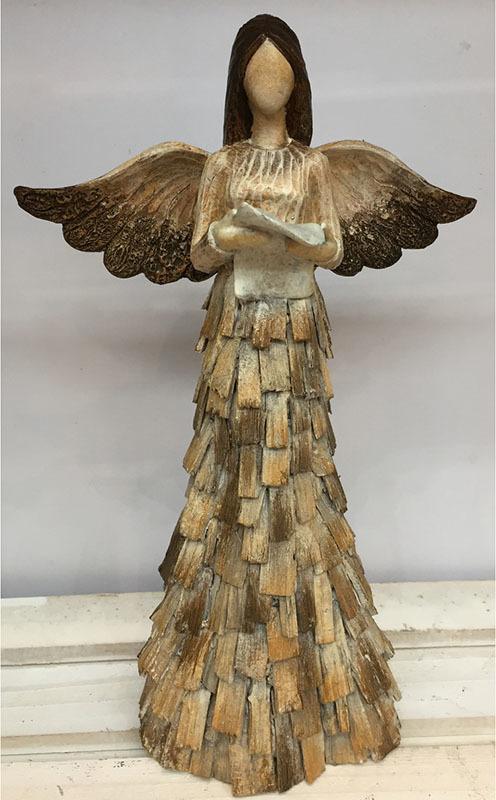 Andělé z keramiky