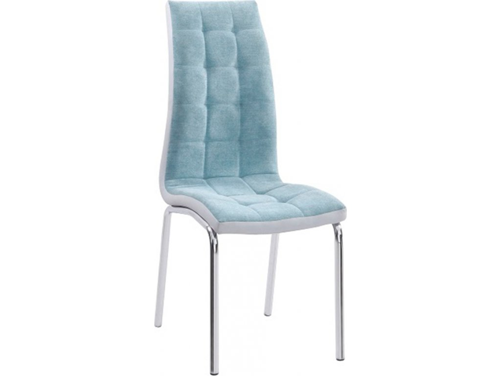 Jídelní židle, mentolová / chrom, GERDA NEW