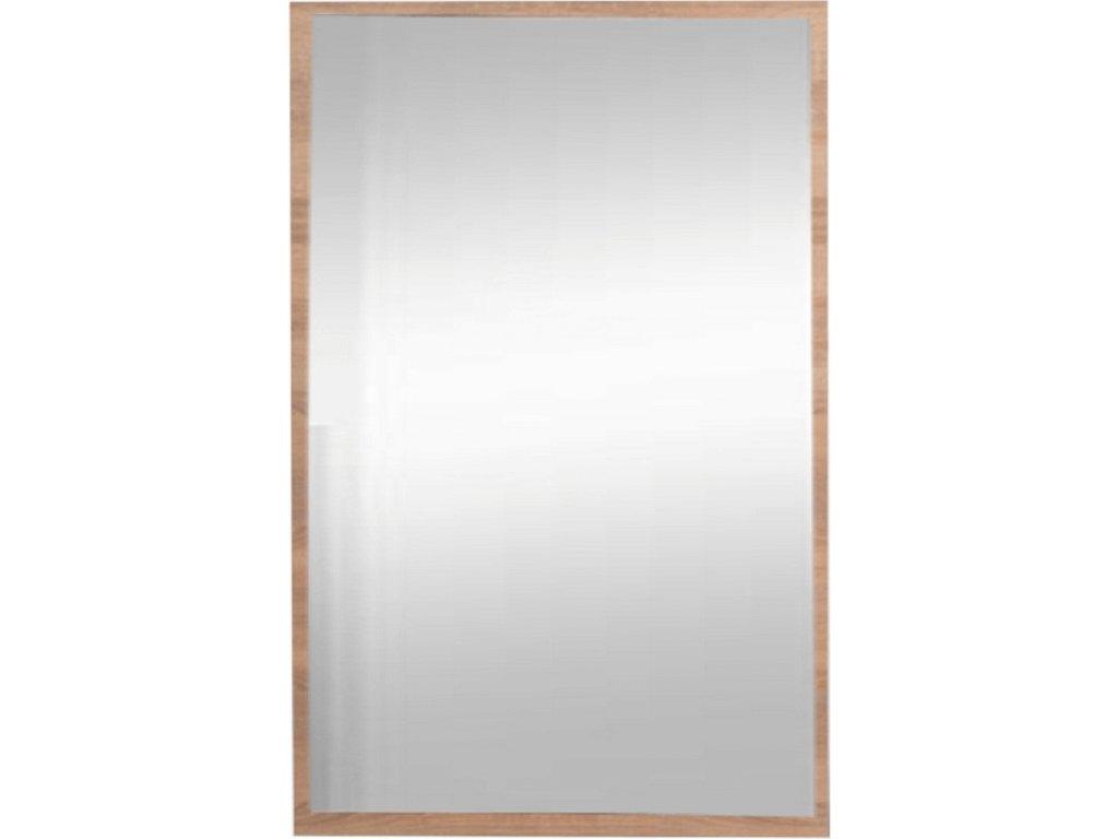 Zrcadlo na dřevěné desce