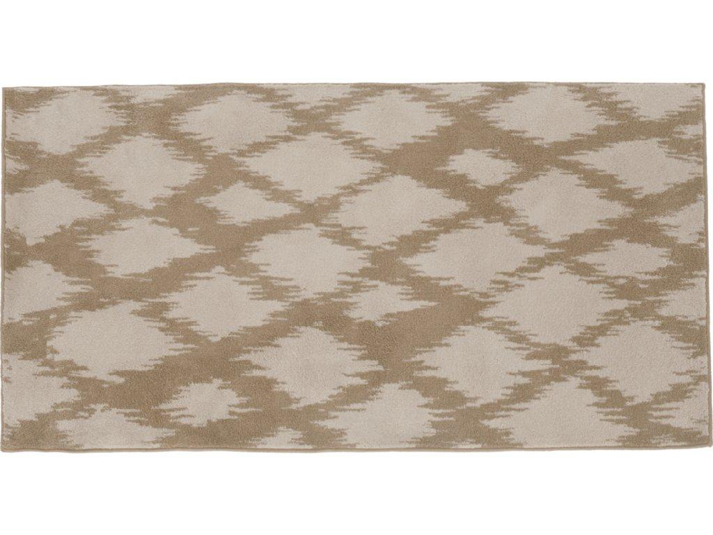 Koberec, krémově/bílá, 160x235, LIBAR