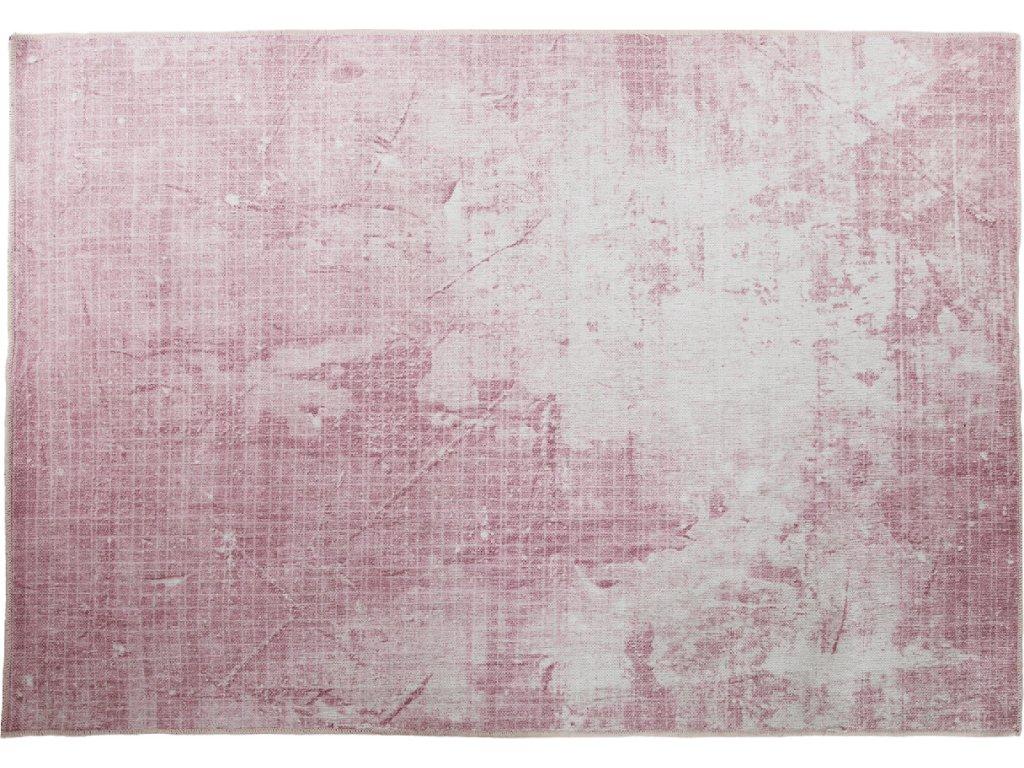 Koberec, růžová barva, 120x180, MARION TYP 3
