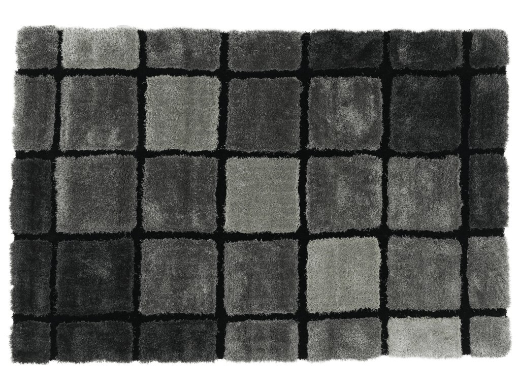 Koberec, šedá, 120x180, LUDVIG TYP 2