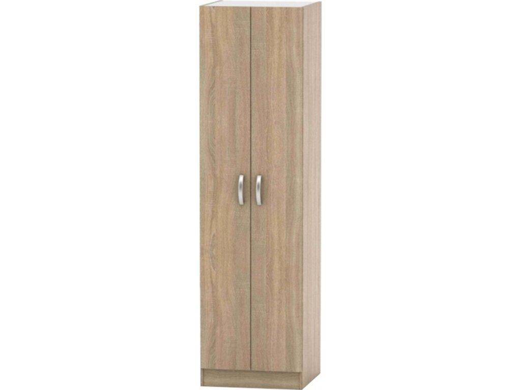2-dveřová skříň, věšáková, dub sonoma, BETTY 2