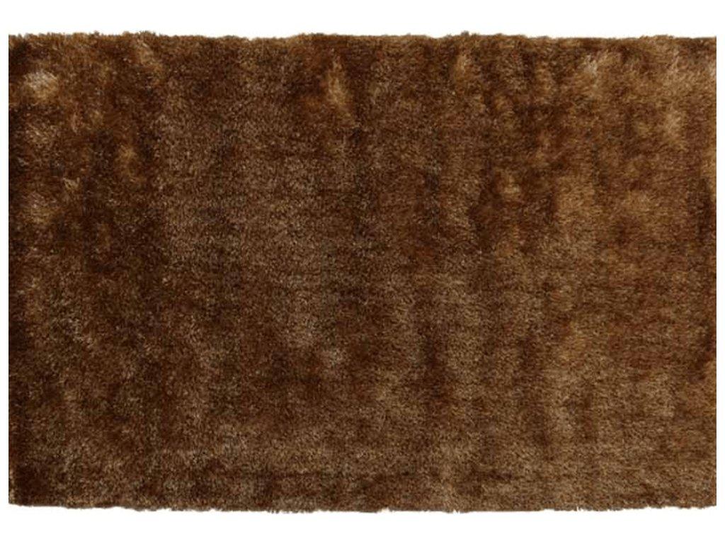 Koberec, hnědozlatá, 120x180, DELAND