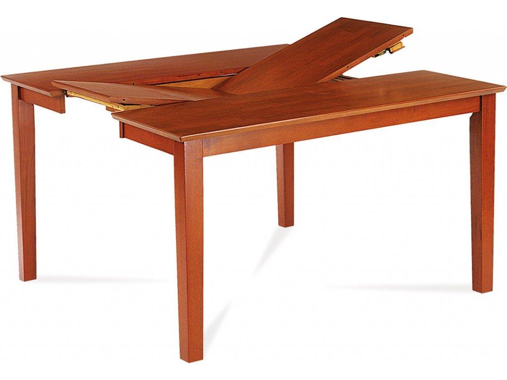 Jídelní stůl  rozkl. 91Praktický jídelní stůl 90 35x136 barva třešeň